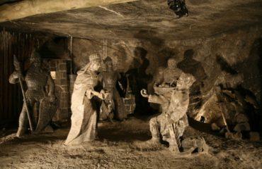 Соляная пещера в Величке
