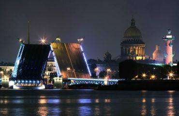 Ночной Санкт Петербург