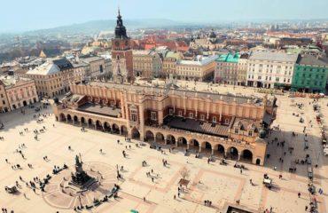 Главная Рыночная площадь в Кракове