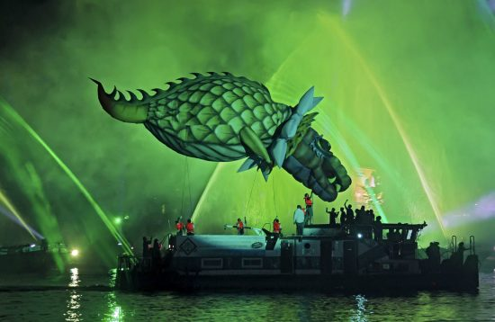 Краков - парад драконов