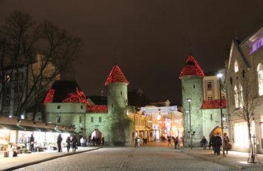 новогодний Таллин